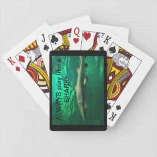 Immer mögen Spiel einen HAIFISCH! Spielkarten