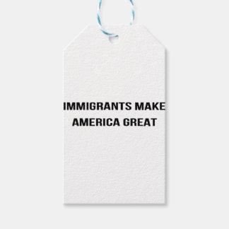Immigranten lassen Amerika groß - USA-Protest Geschenkanhänger