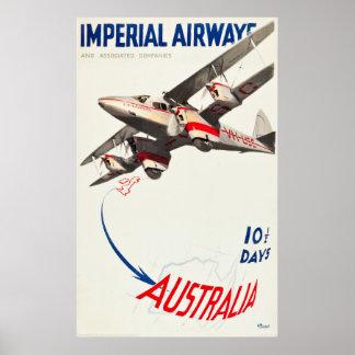 Imperial Airways reisen Plakat