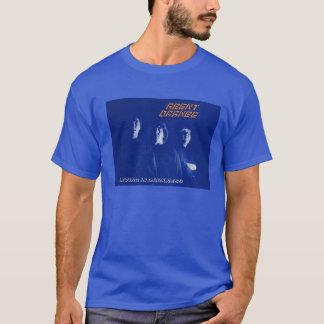 """In der Agent-orange """"lebend Dunkelheit"""" PunkT - T-Shirt"""