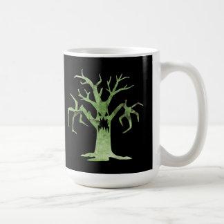 In der Holz-Halloween-Tasse Kaffeetasse