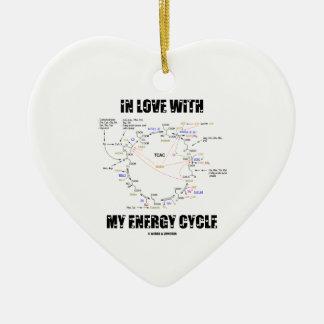 In der Liebe mit meinem Energie-Zyklus (Krebs Keramik Ornament