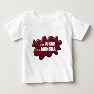 IN einem ORT LA MANCHA VON Baby T-shirt