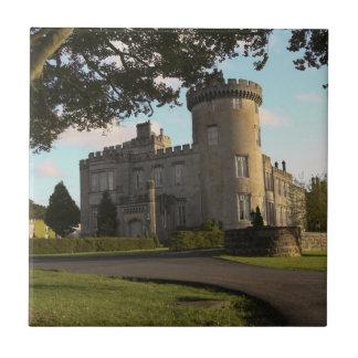 In Irland der Dromoland Schlossseiteneingang Fliese
