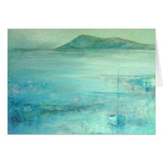 In Richtung zu Samson Hügel Inseln von Scilly Karte