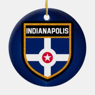 Indianapolis-Flagge Keramik Ornament