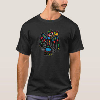 Indianer Native American Rabe raven T-Shirt