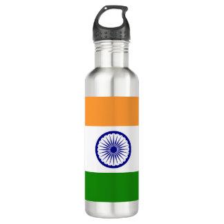 Indien-Flagge Edelstahlflasche