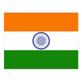Indien Postkarte