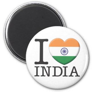 Indien Runder Magnet 5,7 Cm