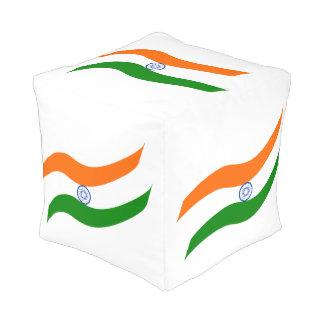 Indische wallend Flagge Hocker