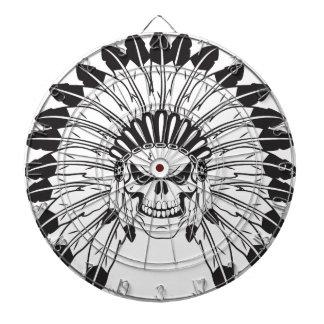 Indischer Schädel-Leiter Dartscheibe