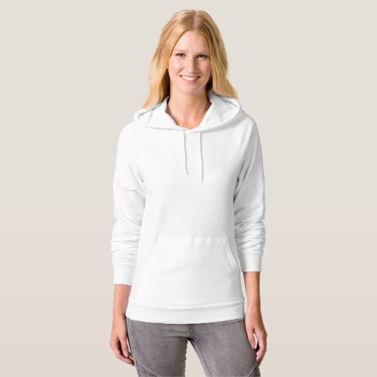American Apparel California Fleece Pullover für Frauen