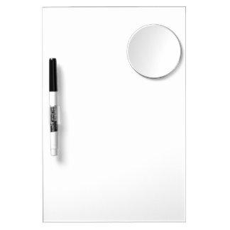Individuelle Memotafel mit Spiegel Whiteboard