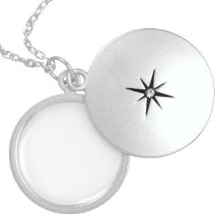 Individuelles Sterling Silber Medaillon