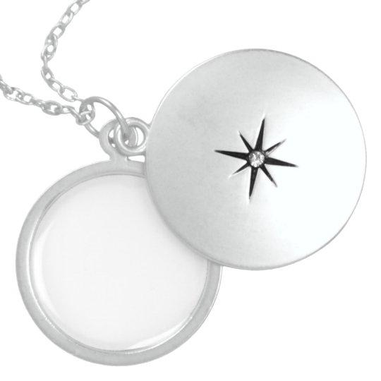 Mittel Sterlingsilber Rundes Medallion