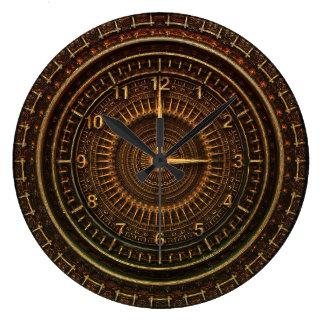 Industrielle steampunk Uhr