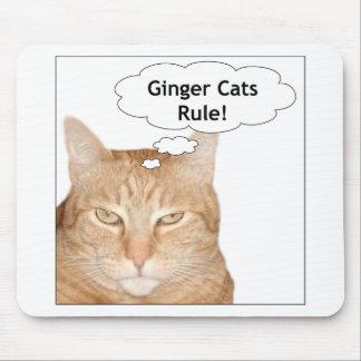 Ingwer-Katzen-Regel! Mousepads