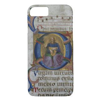 """Initiale """"D"""" Frau 531 f.169v Historiated Ki iPhone 8/7 Hülle"""