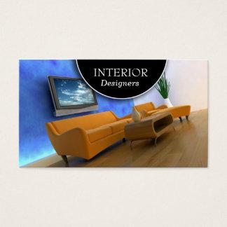 Innenarchitektur-Visitenkarte Visitenkarten