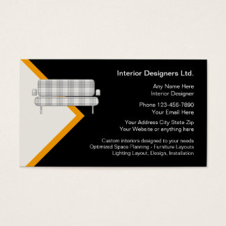 Innenarchitektur-Visitenkarten Visitenkarten