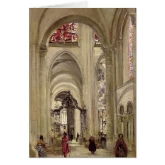 Innenraum der Kathedrale von St. Etienne, Sens Karte