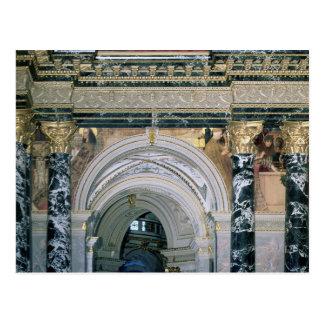 Innenraum des Kunsthistorisches Museums Postkarte