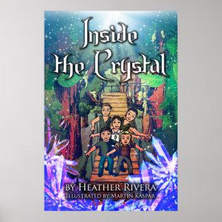 Innerhalb des Kristallbucheinband-Plakats Poster
