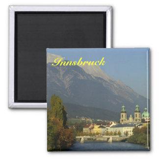 Innsbruck-Kühlschrankmagnet Quadratischer Magnet