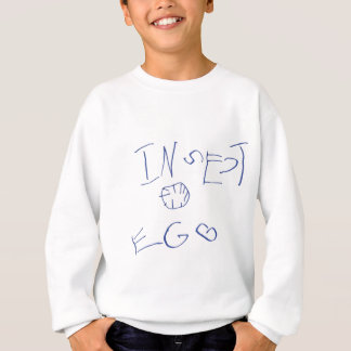 Insekten-Eiernte Sweatshirt