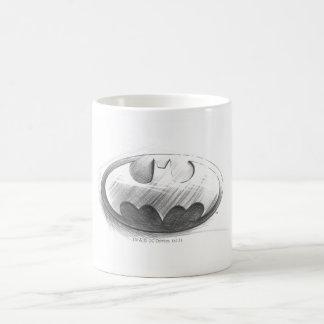 Insignien des Batman-Symbol-|, die Logo zeichnen Tasse