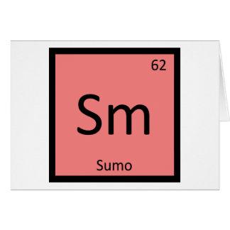 Inspektion - Sumo-Wrestling-Chemie-periodische Karte
