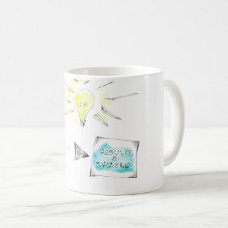 Inspirational Skizze auf Kaffee-Tasse Kaffeetasse