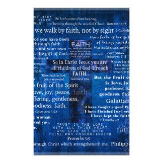 Inspirierend Glauben-Bibel-Verse Briefpapier