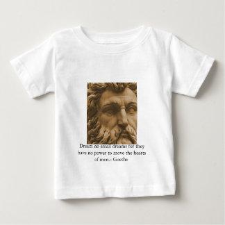 Inspirierend Goethe Zitat Baby T-shirt