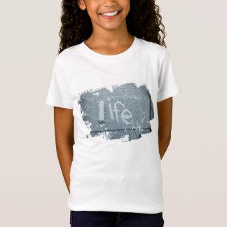 Inspirierend Leben boho rustikales Blau T-Shirt