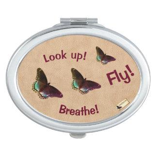 Inspirierend Spiegel - steigen Sie oben Taschenspiegel