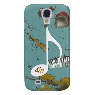 Instrumente der musikalischen Anmerkung u. der Galaxy S4 Hülle