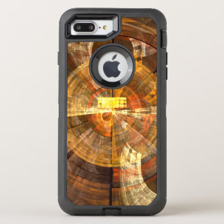 Integritäts-abstrakte Kunst OtterBox Defender iPhone 7 Plus Hülle