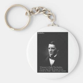 Intellekt-u. Charakter-Zitat-Geschenke u. T-Stück Schlüsselanhänger