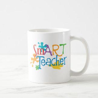 intelligenter Lehrer für den Kunstlehrer Tasse