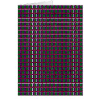 INTENSIVE Farbe kopiert Glitzern-Werbegeschenk Karte