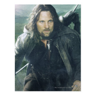 Intensives Aragorn Postkarte