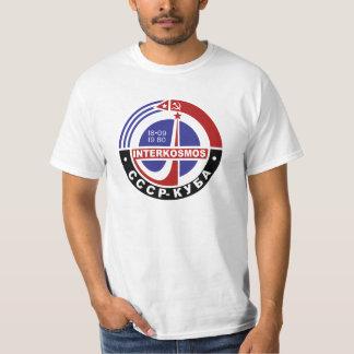 INTERKOSMOS Интеркосмос 80er sowjetisches T-Shirt