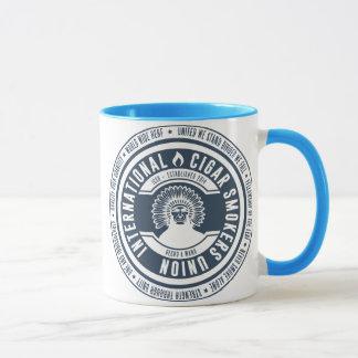 Internationale Zigarrenraucher-Gewerkschafts-Tasse Tasse