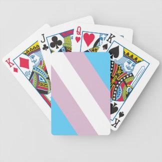 Intersex Stolz-Flagge Spielkarten