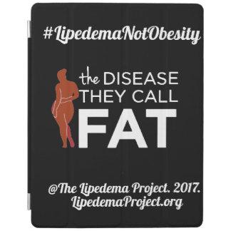 """Ipad Abdeckung """"die Krankheit nennen sie Fett """" iPad Hülle"""