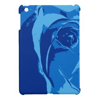 Ipad Fall mit blauer Rose Hüllen Für iPad Mini