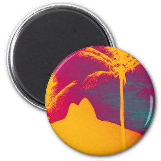 Ipanema - Leblon Runder Magnet 5,1 Cm