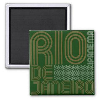 Ipanema Rio für die Gefriermaschine Quadratischer Magnet